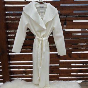 White long trench coat